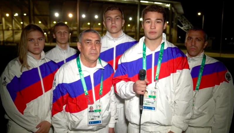 Российские боксеры, выигравшие 4 медали на Олимпиаде, почтили память погибших в Крыму