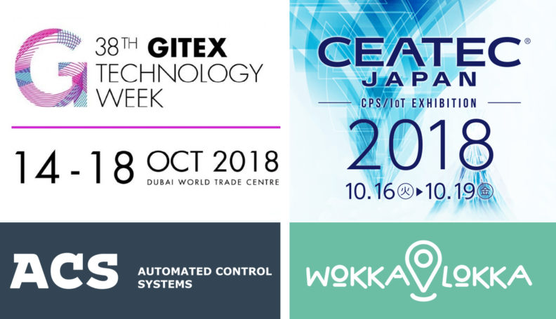 На двух международных выставках представлены продукты АСК: GITEX TECHNOLOGY WEEK 2018 и CEATEC Japan 2018