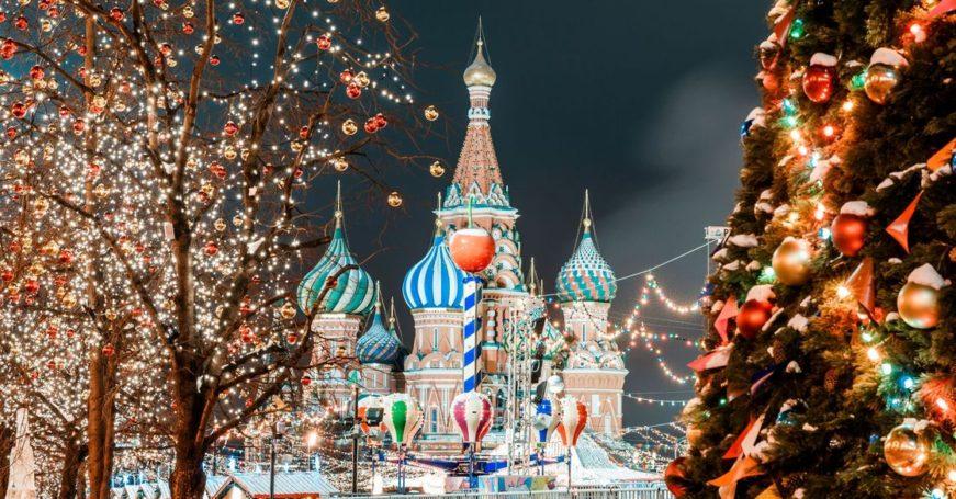 The Telegraph включила Москву в «десятку» лучших городов мира для празднования Рождества