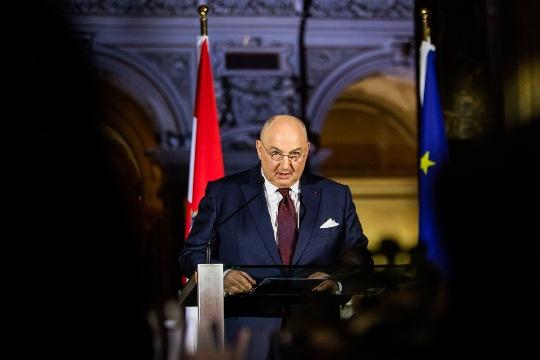 Президент ЕЕК Вячеслав Моше Кантор приветствовал принципиальность канцлера Австрии в вопросах антисемитизма