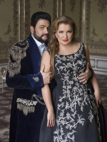Анна Нетребко и Юсиф Эйвазов готовятся к первому сольному концерту в Большом театре России