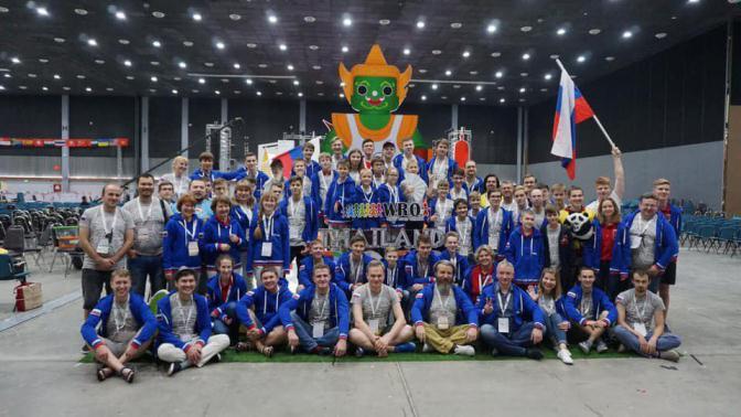 Российская сборная  приняла участие во Всемирной олимпиаде роботов