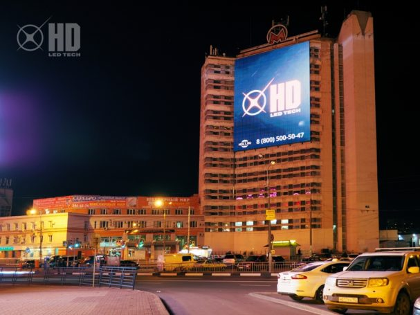 GMG расширила аудиторию охвата медиафасадной рекламой