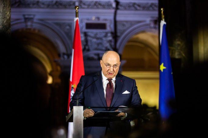 Вячеслав Моше Кантор говорит о необходимости восстановления доверия евреев к европейским властям