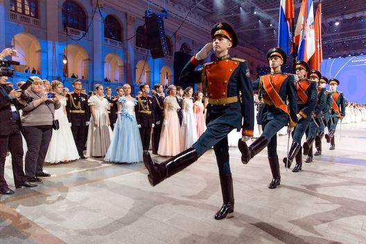 Алиса Лобанова кадетам России: «Наше будущее – в ваших руках!»