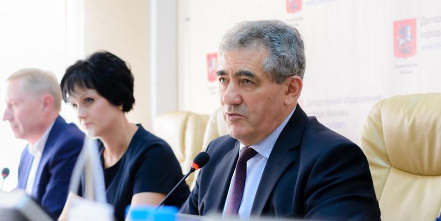 Департамент образования Москвы проведет пресс-конференцию «Новые технологии в московском образовании»
