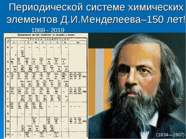 Посвященная 150-летию открытия периодической таблицы химических элементов Д.И. Менделеева пресс-конференция пройдет в Москве