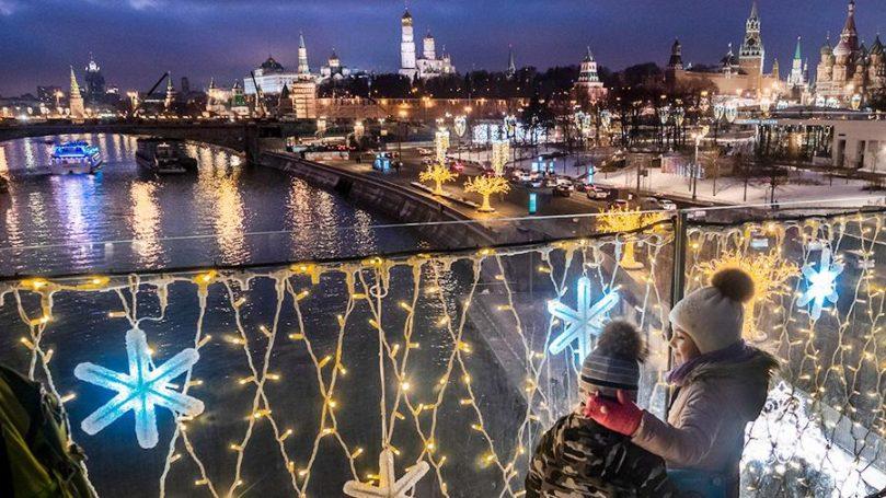 7500 человек использовали интерактивные маршруты портала «Узнай Москву» в новогодние праздники
