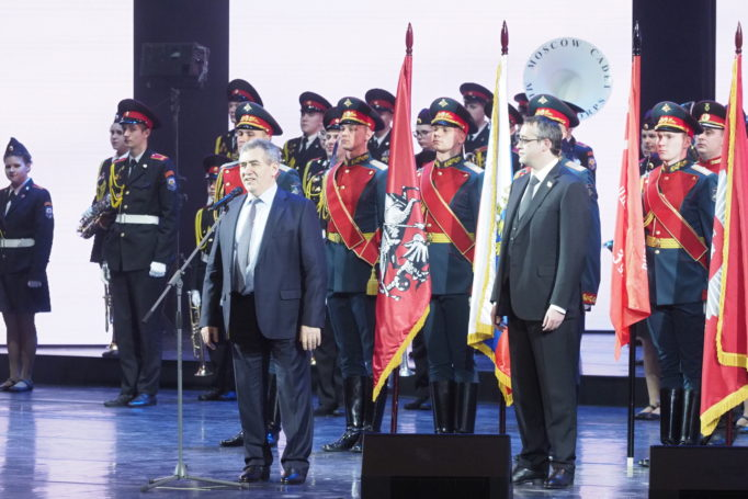 Исаак Калина назвал кадетов гордостью российской столицы