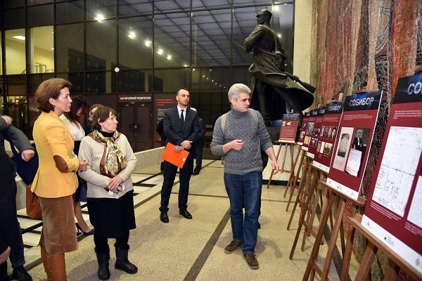 Выставка, посвященная Александру Печерскому, открылась в Центральном музее Вооруженных Сил