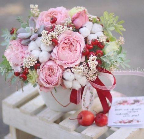 Авторская коллекция букетов от интернет-магазина SaFlor Flowers