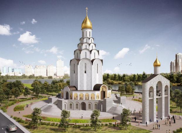 Леонид Федун — сопредседатель жюри конкурса на украшение храма великого князя Владимира