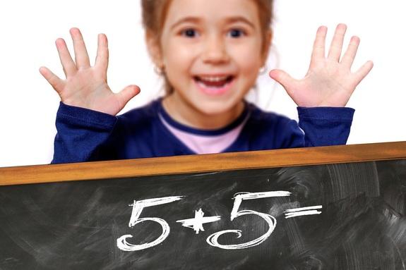 10000 школьников пришли на Математический праздник в столице