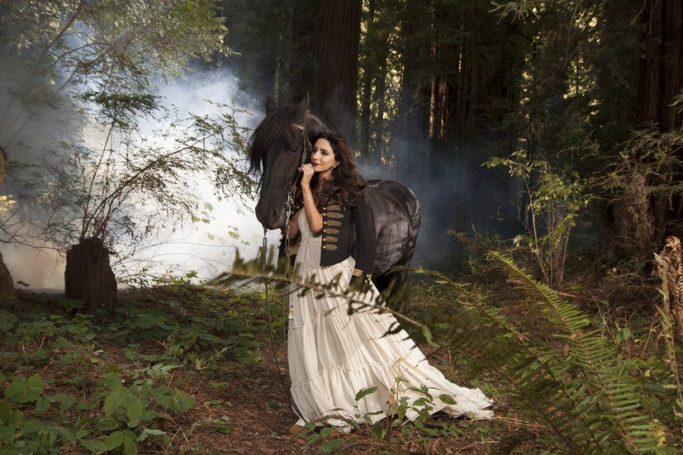 Певица Зара стала участницей торжественного ужина Федерации конного спорта России