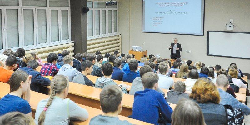 О важности финансовой грамотности в рамках проекта «Суббота московского школьника» сообщил Исаак Калина