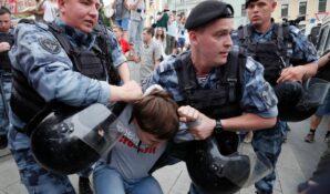Оппозиция обманула москвичей, пообещав мирный незаконный митинг и отсутствие задержаний