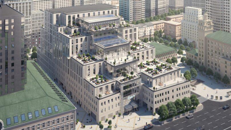 Huawei откроет офис в комплексе «Смоленский Пассаж-2» (САФМАР Михаила Гуцериева)