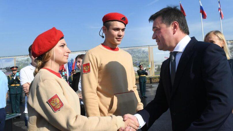Шойгу, Собянин и Воробьев открыли в Подмосковье строительство крупного патриотического центра