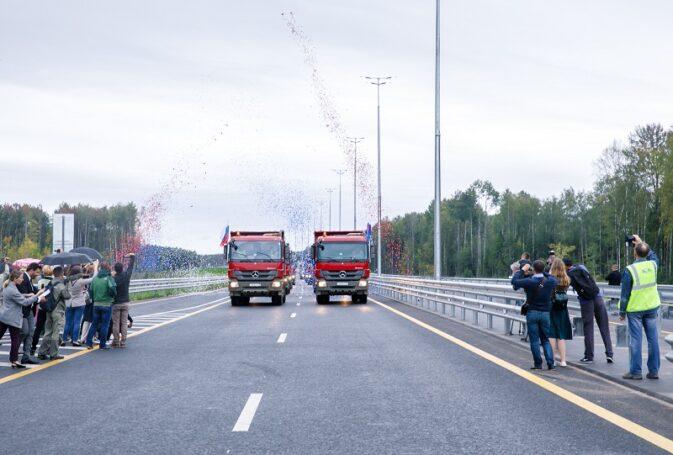 На скоростной трассе М11 открылось движение по 7-му этапу