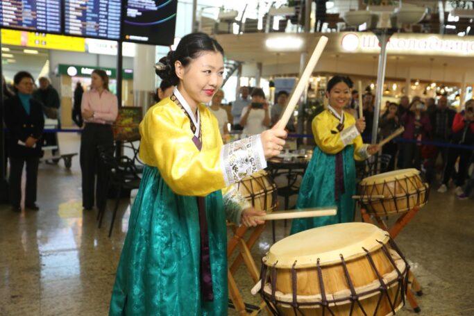 В Шереметьево состоялся Фестиваль «День Кореи: где традиции встречают современность»
