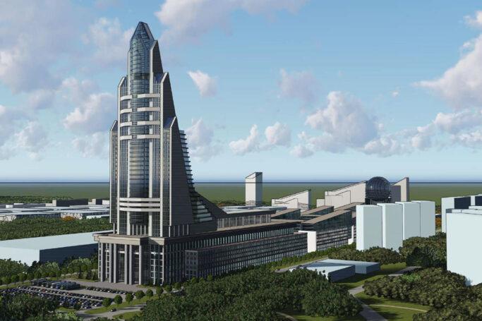 В Москве представили проект Национального космического центра