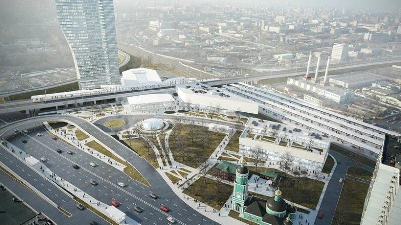 В Москомархитектуры рассказали о строительстве ландшафтного парка у ТПУ «Рязанская»
