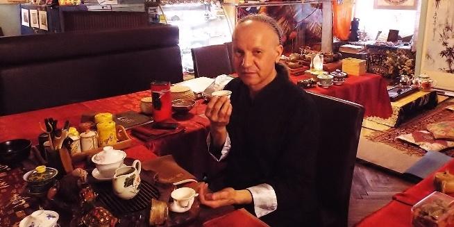 Китайская чайная церемония, посвященная выставке чая «Один пояс, один путь»