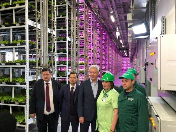 Сергей Собянин рассказал о перспективах развития сити-фермерства в Москве