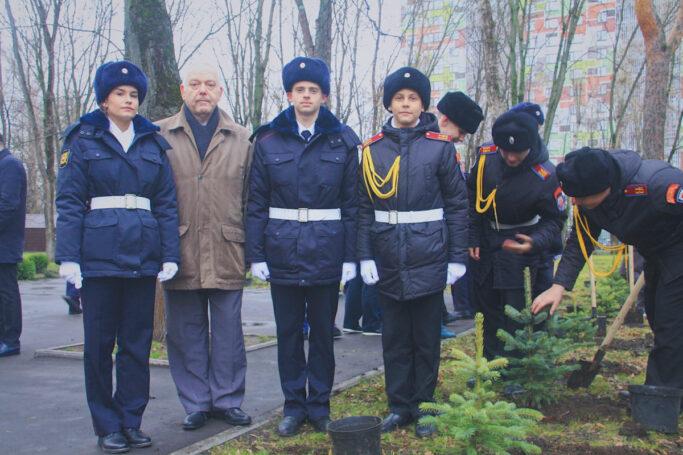 Акция посвященная Дню Победы прошла в колледже полиции совместно с «Поисковики» и НЭК