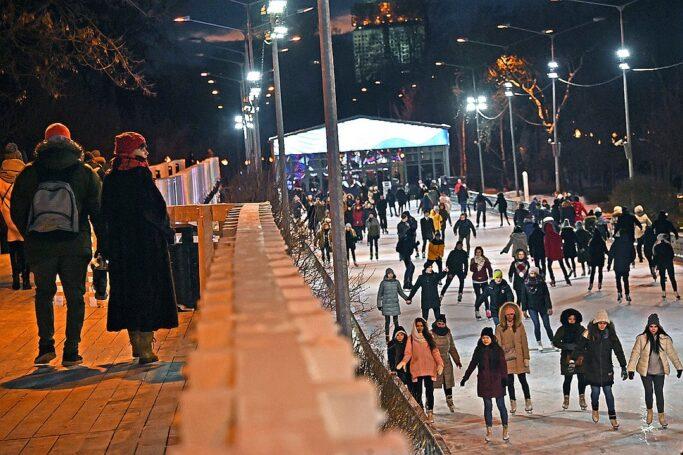 В Парке Горького стартует сезон зимних развлечений – Мосгорпарк