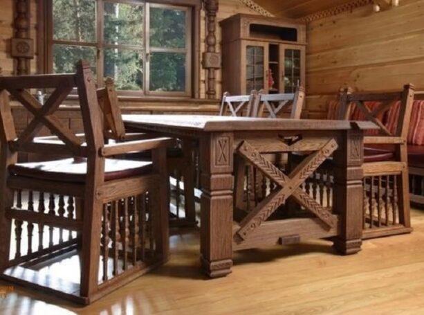 Мебель из деревянного массива подарит комфорт и эстетическое удовлетворение
