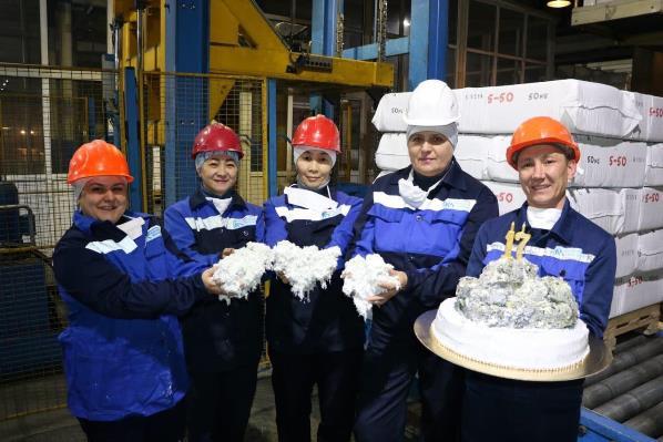 17-миллионную тонну хризотила произвели АО «Костанайские минералы»
