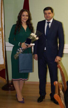 Победителям национального российского этапа международного конкурса «Вместе против коррупции» вручили медали прокуратуры