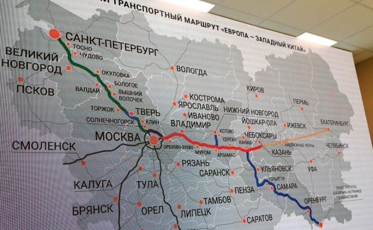 Хризотил и дороги: участок новой трассы Москва-Петербург построен при помощи инновационной добавкой