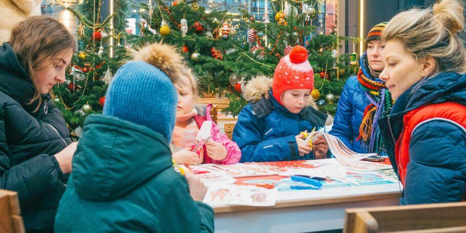 На фестивале «Путешествие в Рождество» в российской столице пройдут благотворительные акции