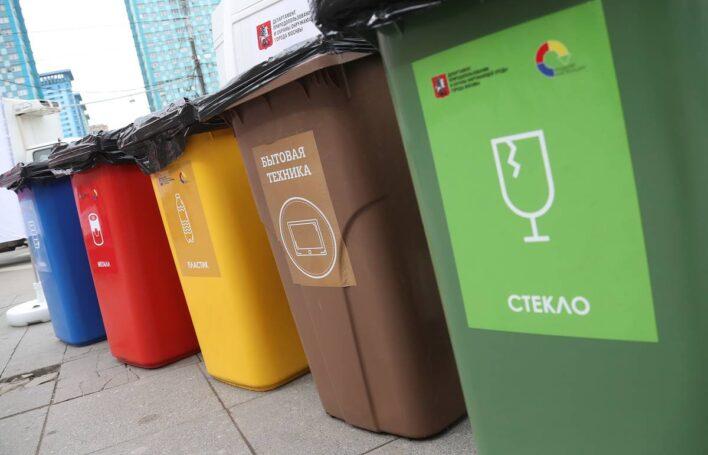 Москва утвердила территориальную схему вывоза мусора