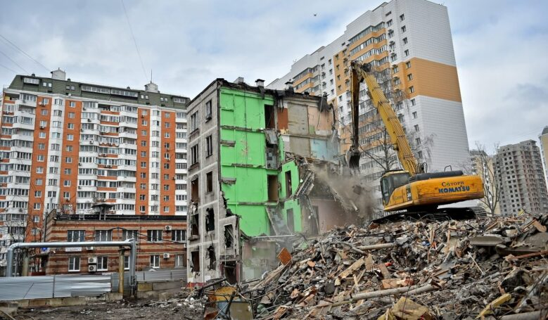 По программе реновации в Москве с начала года построили десять жилых домов