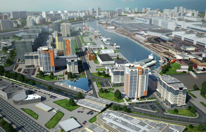 Самое перспективное для инвестиций жилье у воды строится в Даниловском районе