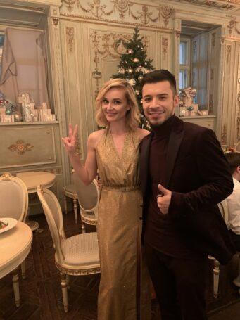Певец Норис провел новогоднюю ночь с Сергеем Лазаревым и Полиной Гагариной