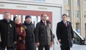 Михаил Романов принял участие в патриотической акции «Ленинградская вахта памяти»