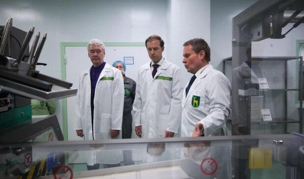В Москве запущен завод по изготовлению уникальных медпрепаратов