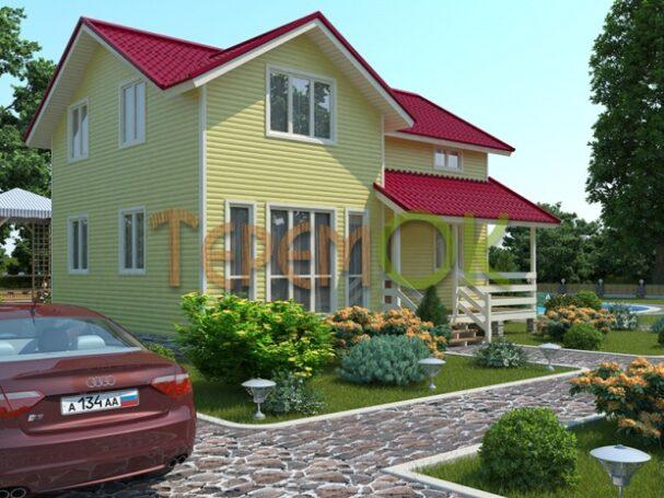 Деревянные дома от строительной компании Теремок!