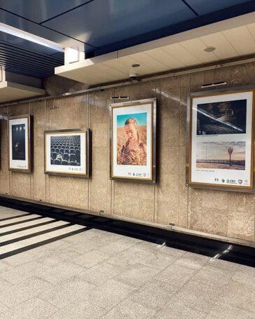 В московском метро открылась экспозиция фоторабот «За то я люблю Россию»