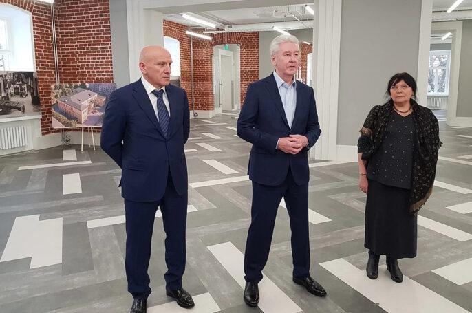 В столице отреставрирован особняк Московской межевой канцелярии