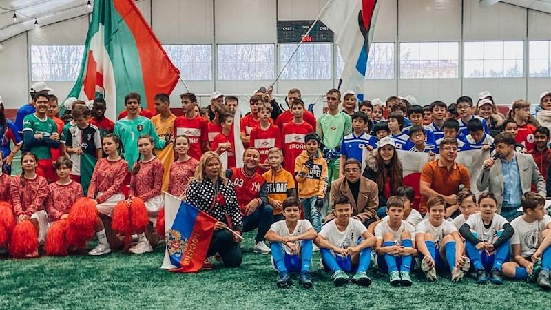 В Москве прошёл международный благотворительный детский турнир по мини-футболу «Кубок Добра-2020» с участием звёздных артистов