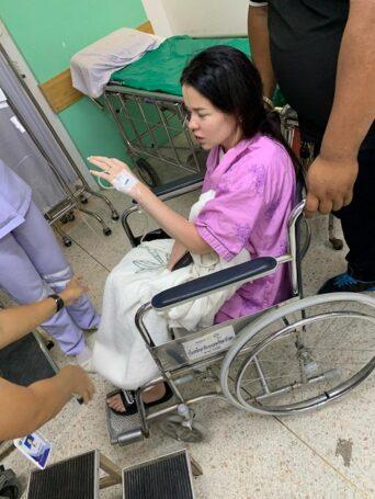 Елена Князева попала в больницу