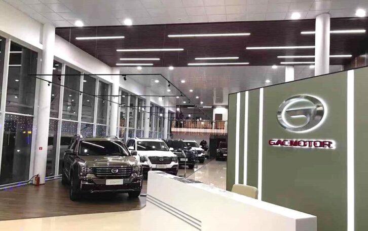 GS8 от GAC MOTOR получает множество положительных отзывов в России
