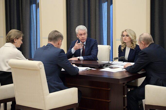 Карантинную практику Москвы нужно распространить на все города-миллионники – Собянин