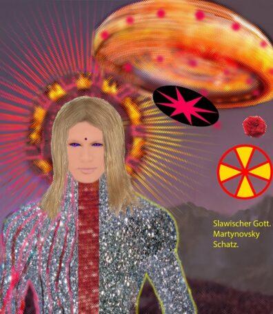 Колесницы Богов в картинах DiezelSun