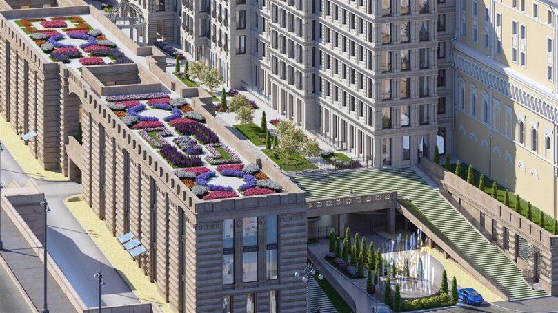 Комплекс апартаментов «Царев сад» в Москве позволит почувствовать дух эпохи «золотого века»